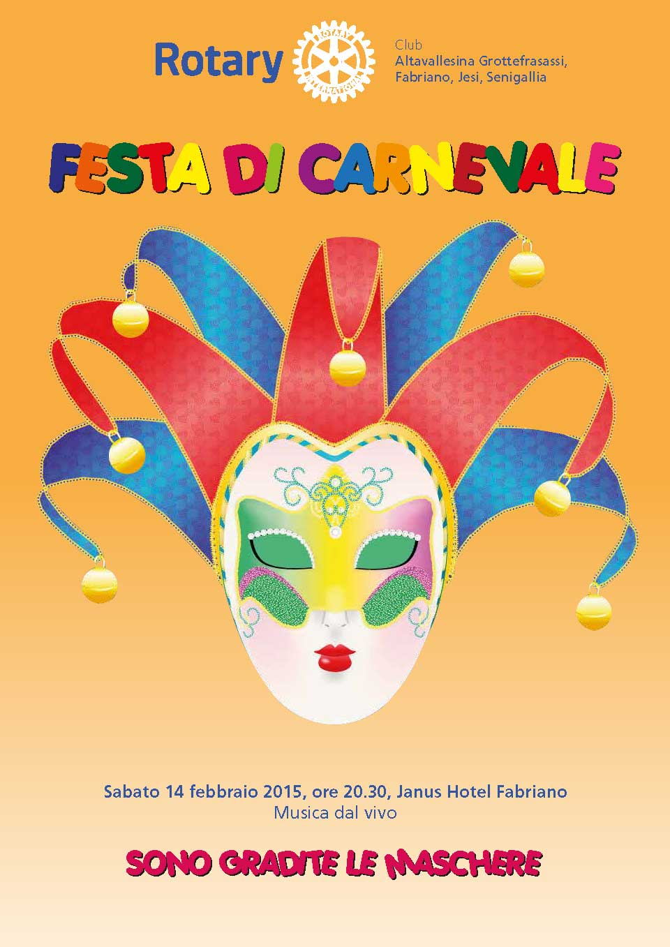 Festa di Carnevale in Interclub