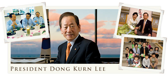 2008/2009 - Il Presidente del R.I. Dong Kurn Lee