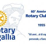 60° ANNIVERSARIO DELLA FONDAZIONE DEL ROTARY CLUB SENIGALLIA