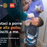 Una giornata. Un obiettivo: Porre fine alla Polio