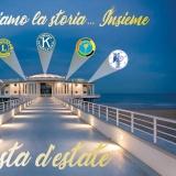 Illuminiamo la Storia Insieme - Festa Estate 2018 Club Service di Senigallia