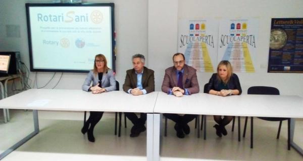 """Il progetto di prevenzione oncologica """"RotariSani"""" entra nelle scuole di Senigallia"""