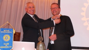 Andrea Avitabile è il nuovo Presidente del Rotary Club Senigallia