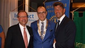 Duplice evento per il Rotary Club di Senigallia: l'Avv. Massimiliano Belli succede al Dott. Andrea Avitabile alla guida del club;  costituito il Club Interact.