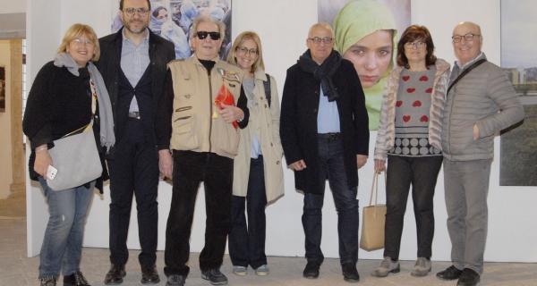 Il Rotary Club Senigallia in visita alla mostra di Giorgio Pegoli