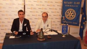 Il Rotary incontra il dott. Simone Santini, manager senigalliese della multinazionale Adidas