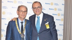 Passaggio di consegne al Rotary club Senigallia – il dott. Learco Perini è il nuovo presidente
