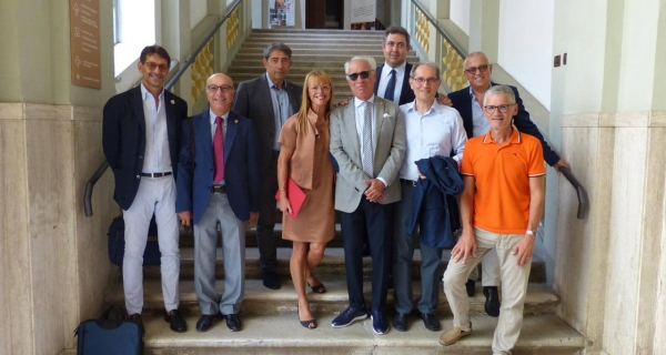 Il Governatore del Distretto Rotary 2090 Gabrio Filonzi in visita a Senigallia