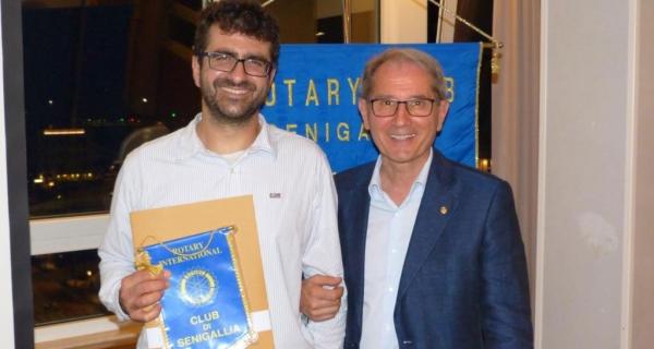 Il libro di Giovanni Borghesi e l'Operazione Mato Grosso al Rotary Club Senigallia