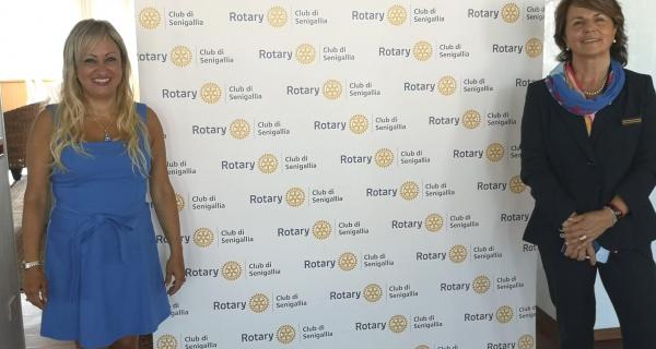 Il Governatore del Distretto Rotary 2090 in visita a Senigallia
