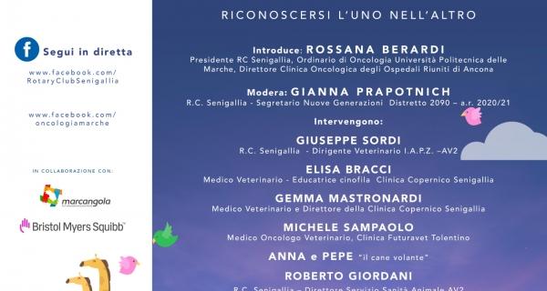"""""""Siamo tutti sulla stessa…ARCA"""" – webinar aperto al pubblico organizzato dal Rotary Club Senigallia con la rete della Marcangola."""